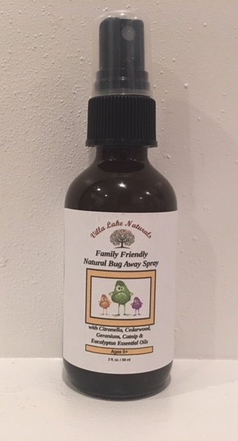 Natural Home ~ Family Friendly Bug Away Spray - Patchouli Essential Oil Blend 4 oz.