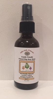 Natural Home ~ Family Friendly Bug Away Spray - Patchouli Essential Oil Blend 2 oz.