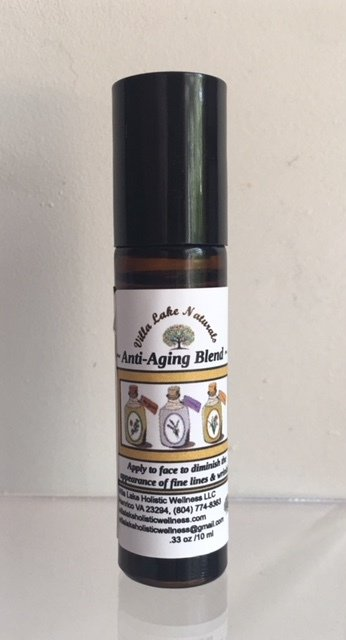 Face ~ Graceful Aging (Fine Line & Wrinkle) Full Spectrum Hemp CBD 30mg Rollerball - 10 ml.