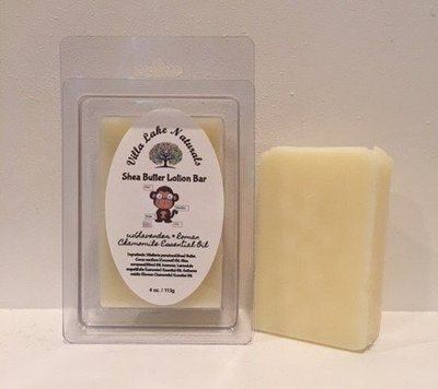 Baby ~ Natural Baby ~ Shea Lotion Bar Lavender Chamomile 4 oz.