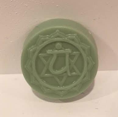 Soap ~ Chakra Balancing Soap - 4 Heart ~ Geranium & Melaleuca 3.15 oz. (one soap)