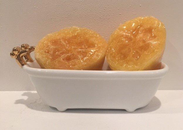 Soap ~ Exfoliating Loofah Soap 3.3 oz (One Bar)