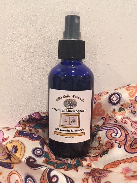 Natural Home ~ Lavender Linen & Room Spray ~ 4 oz.