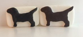 Soap ~ Oatmeal Shea Dog Soap for Humans - Choose essential oils - Choose Color 1 bar 5 oz.