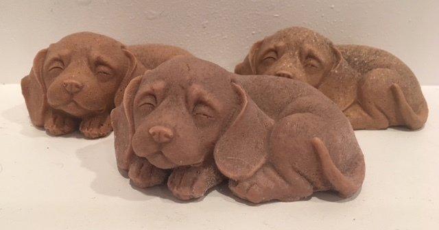 Soap ~ 3D Puppy Soap w/Shea Butter & Oatmeal ~ Lavender Essential Oil - Choose Color - one soap - 4.7 oz