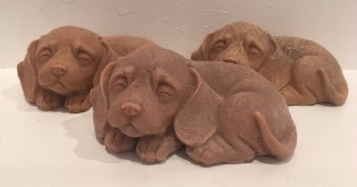 Soap ~ 3D Puppy Soap w/Shea Butter & Oatmeal ~ Lavender Essential Oil - Choose Color - one soap - 4.7 oz