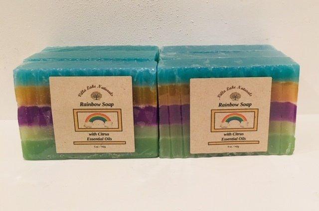Soap - Rainbow Bar - One Bar 5.7 oz.