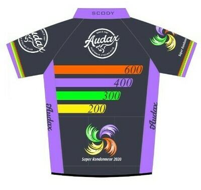 Audax 2020 Super Randonneur Jersey
