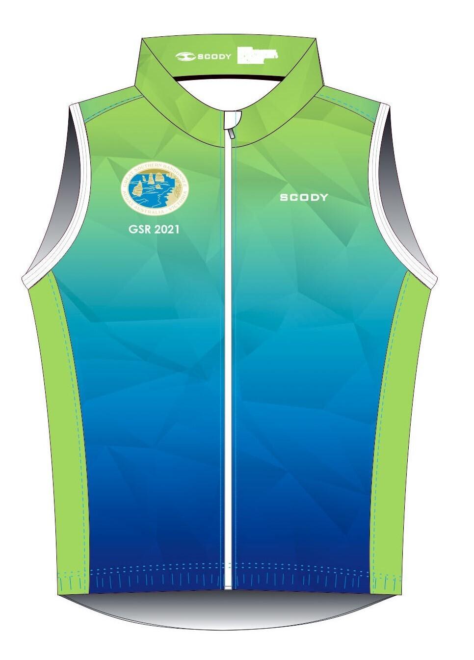 GSR 2021 Lightweight Wind Vest with Mesh Back