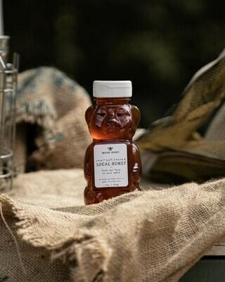 Local Wildflower Honey 12oz Bear