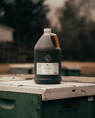 Local Wildflower Honey Gallon Jug