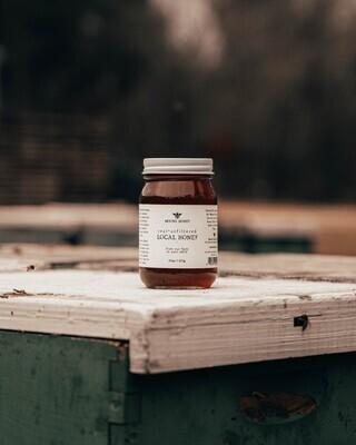 Local Wildflower Honey Pint Jar