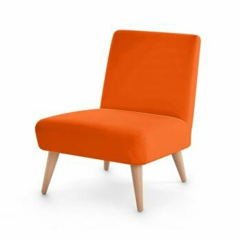 OCCASIONAL CHAIR ORANGE