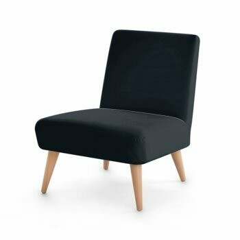 OCCASIONAL CHAIR SOLID BLACK