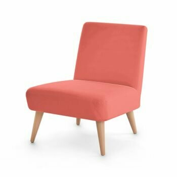 OCCASIONAL CHAIR LIVING CORAL