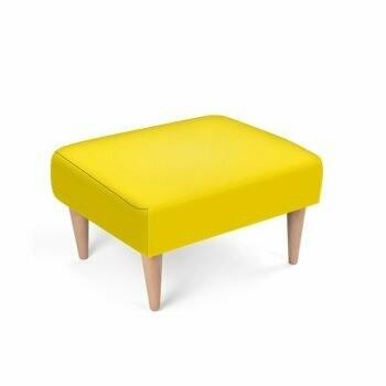 Footstool Pantone Yellow C
