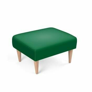 Footstool Emerald Green