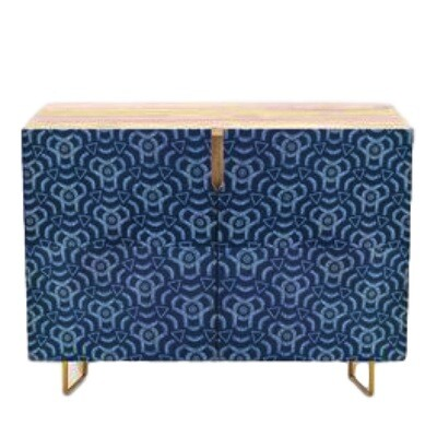 Credenza Botswana Tradition Fabric Print
