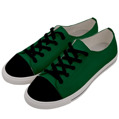 Women's Forest Green Low Top Sneakers
