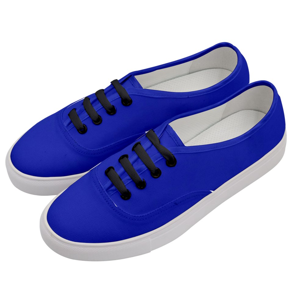 Women's Classic Reflex Blue Low Top Sneakers
