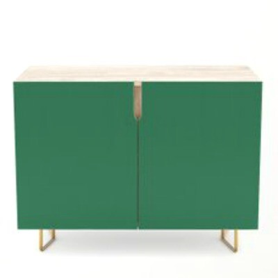 Credenza Forest Green
