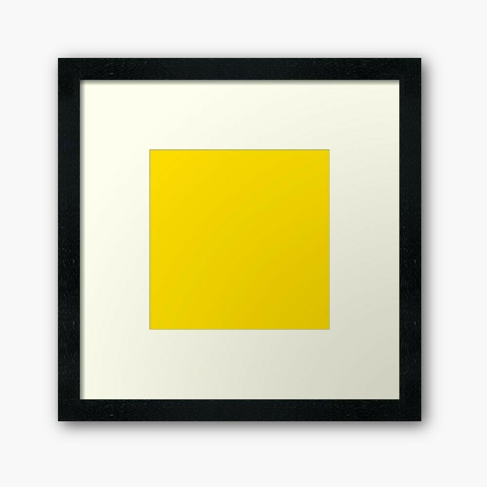 Yellow Wall Frame