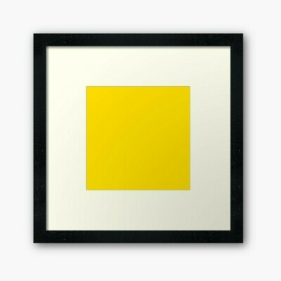 Yellow Wall Frame