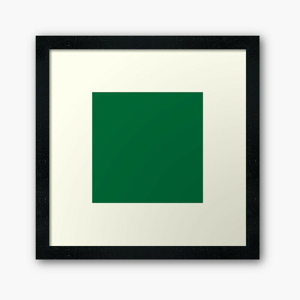 Forest Green Wall Frame