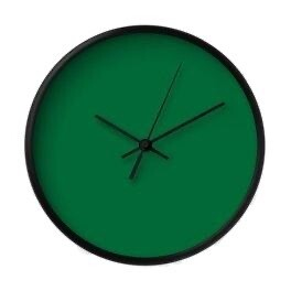 Forest Green Clock