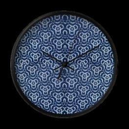 African Print Clock