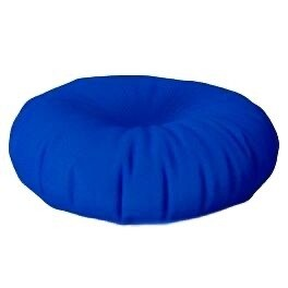 Floor Cushion Round Reflex Blue