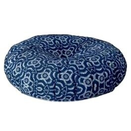 Floor Cushion Round African Print
