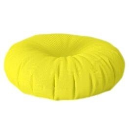 Floor Cushion Round Yellow