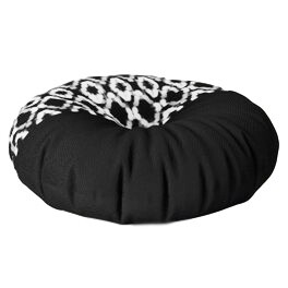Floor Cushion Round Monochrome