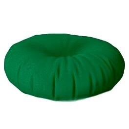 Floor Cushion Round Forest Green