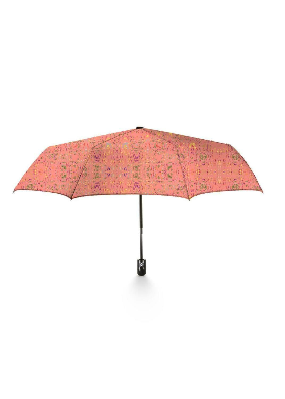 Umbrella Foldable Living Coral Print