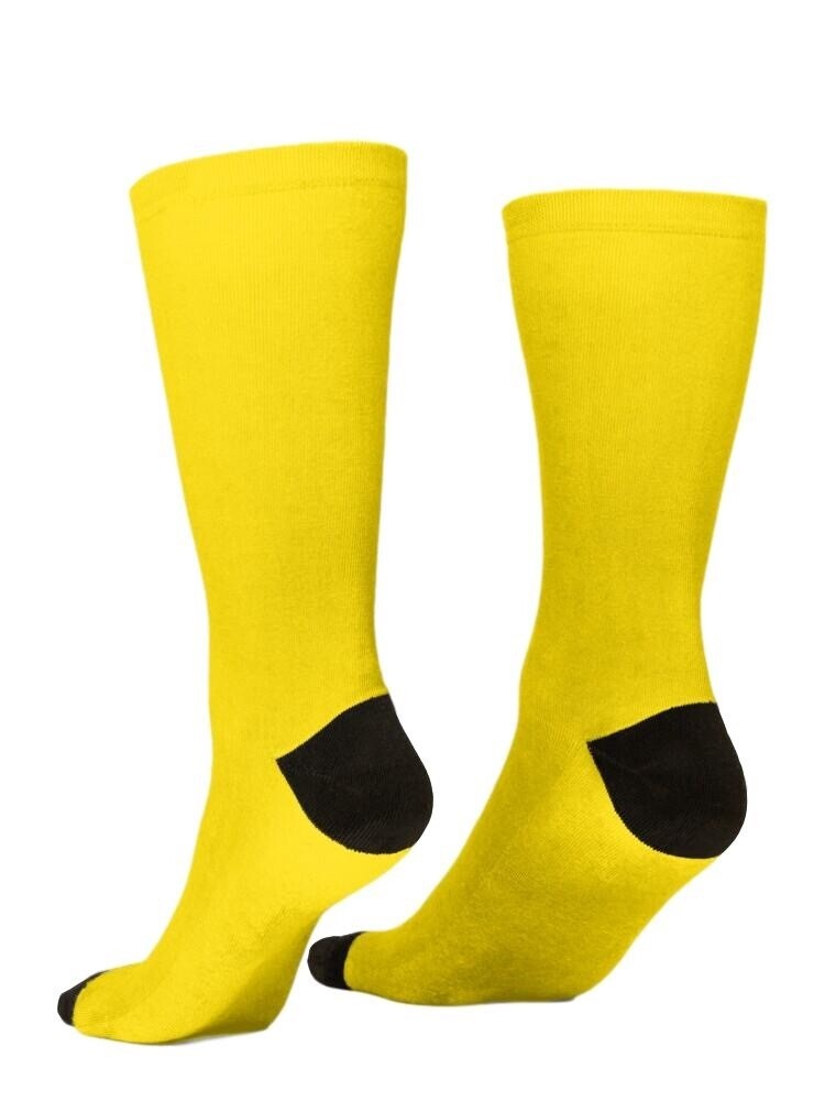 Yellow  and Black Socks