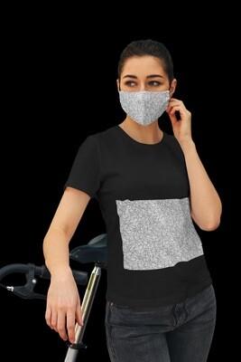 Black Threads Face Mask