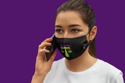 Balance Face Mask Black