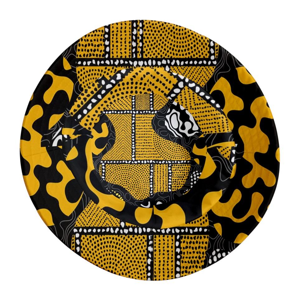 Afro Print 1 Bucket Hat