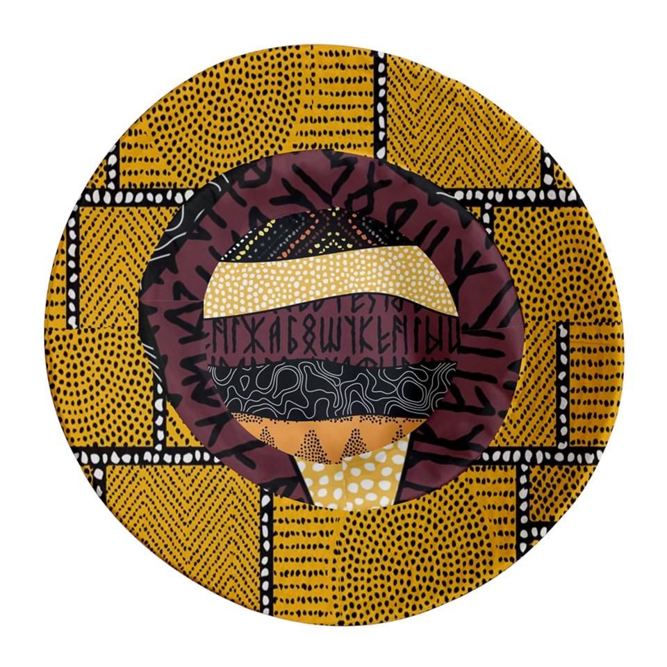 Afro Print 4 Bucket Hat