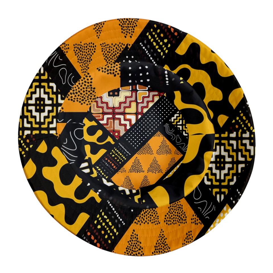 Afro Print 7 Bucket Hat