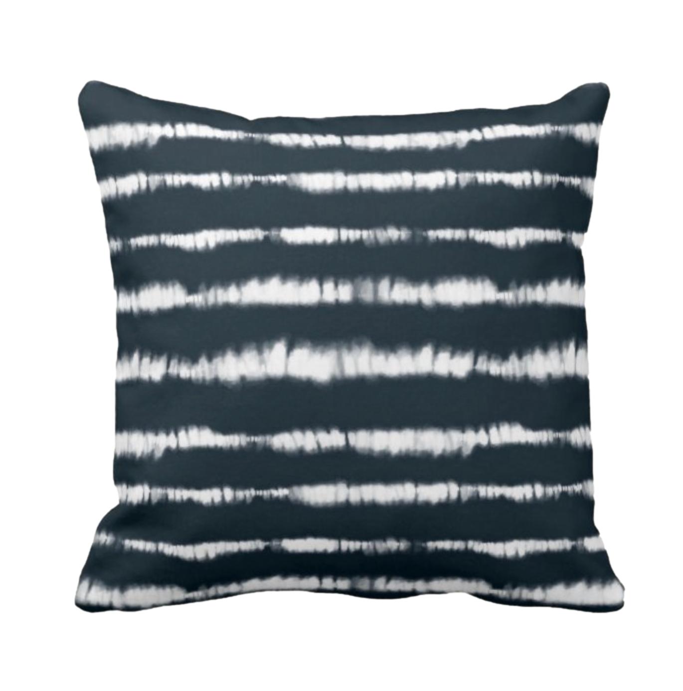 Tie Dye Print Design Throw Cushion 7