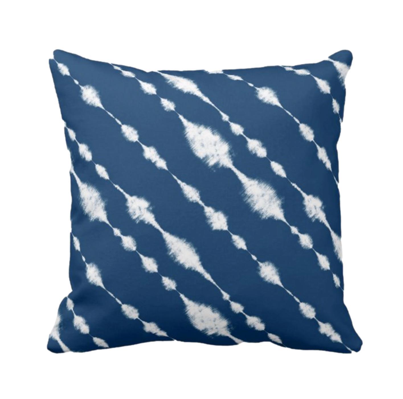 Tie Dye Print Design Throw Cushion 8