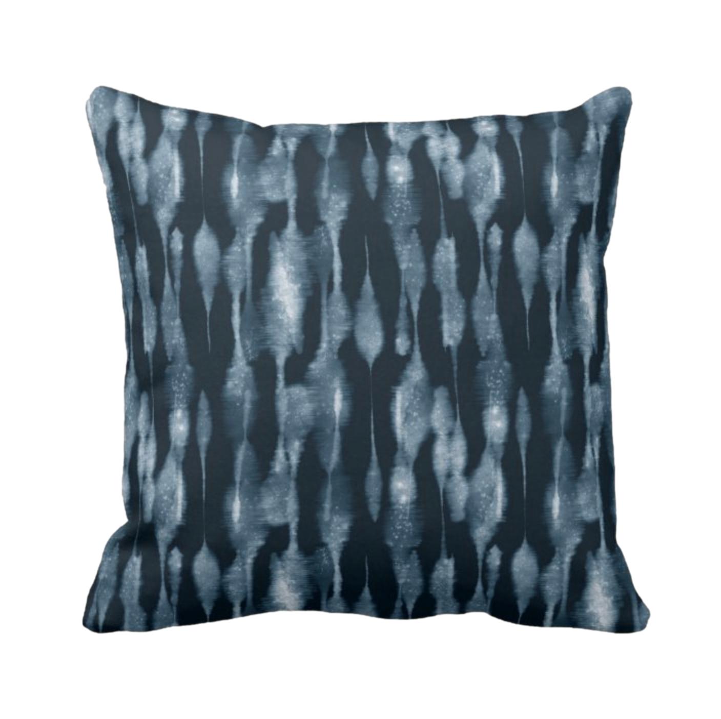 Tie Dye Print Design Throw Cushion 4