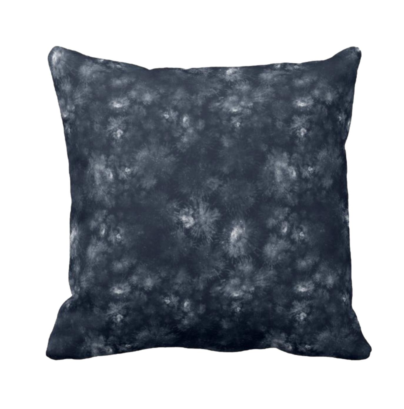 Tie Dye Print Design Throw Cushion 9