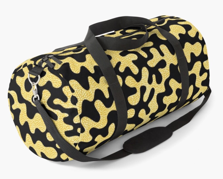 Afro Patchwork Print Design 5 Duffle Bag