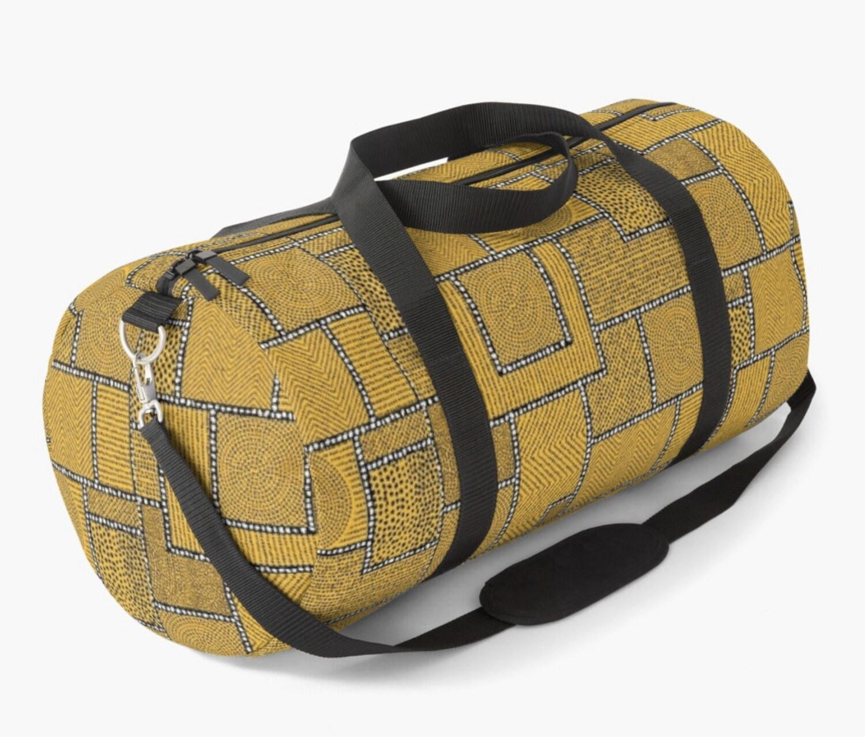 Afro Patchwork Print Design 3 Duffel Bag