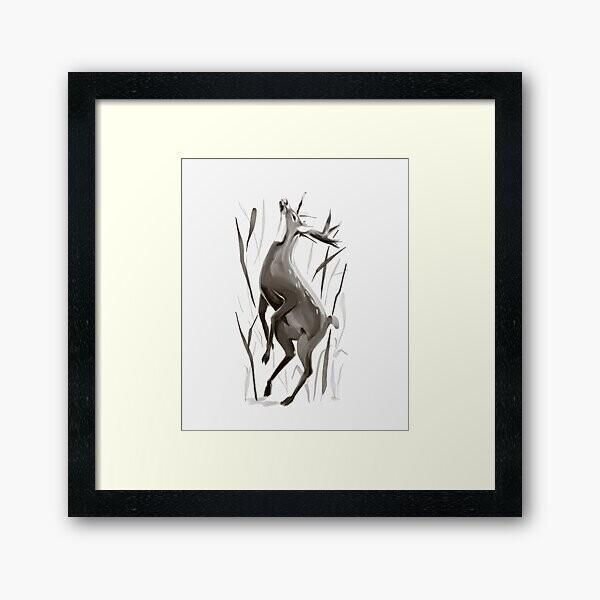 Deer Wall Frame