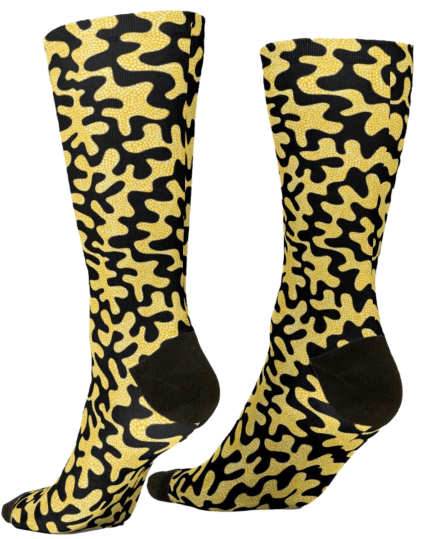 Afro Patchwork Print Design 5 Socks